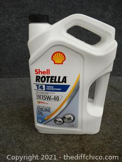 Shell Rotella 15W 40 New Sealed