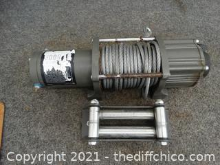 5000LB Cable Winch