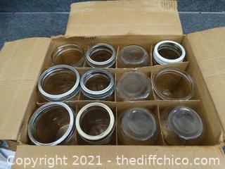 12 Canning n Jars