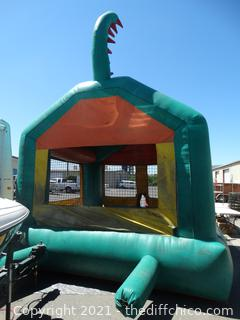 Large Blow Up Dragon Bounce House 13x13x16