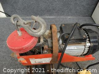 Chicago Electric Electric Hoist