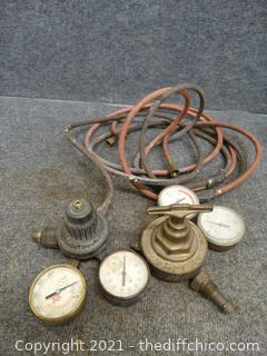 OXY Act Hoses & Gauges