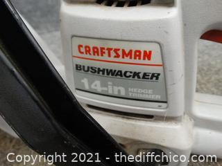 """Craftsman Bushwacker 14"""" wks"""