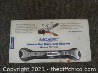 Alden Wrench Interactive Open End Ratchet