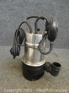 Dirty Water Pump With Float Switch wks