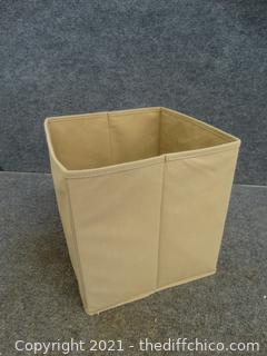 Canvas Fold Up Box