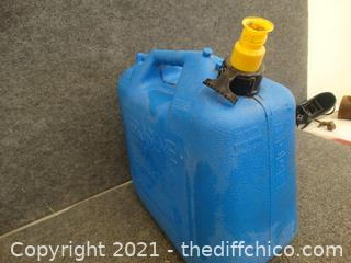 Kerosene 5 Gallon Jug