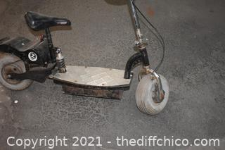 Untested Scooter - as is