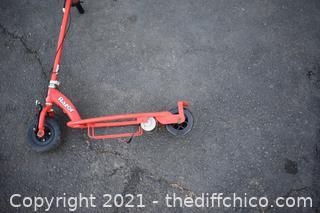 Razor Scooter - needs help
