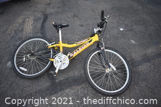 Mountain Scout Raleigh Bike