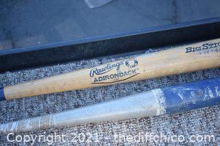 2 Baseball Bats