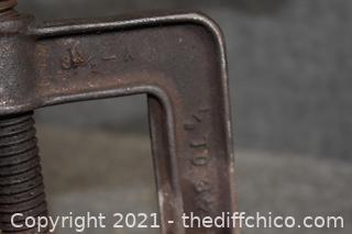 Vintage Pipe Vise