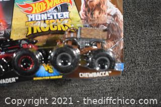 NIB Star Wars Hot Wheels