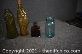Lot of Collectible Bottles