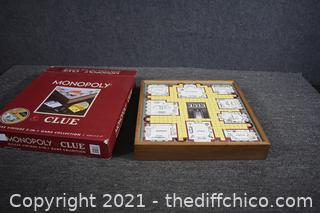 Like New Monopoly Clue Game