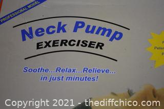 Neck Pump Exerciser