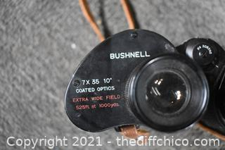 Binoculars w/Case