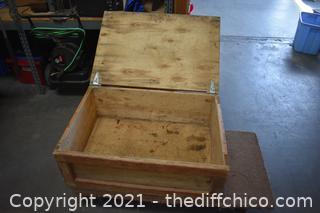 Wood Box - 24in x 35in x 14in