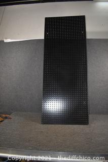 Peg Board - 61in x 24in