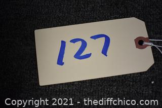 14in x 10 1/2in Sign