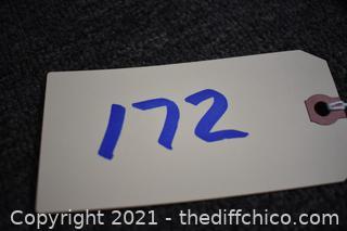 17 3/4in x 4in Sign