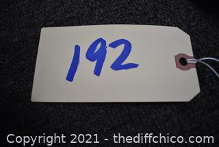 14in x 17 1/4in Sign