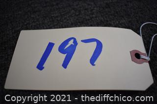 17 1/2in x 11 1/2in Sign