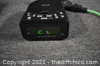 Working Radio Alarm Clock