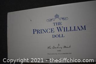 NIB Prince William Doll w/box