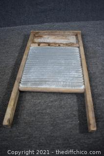 Vintage Washboard - 12 1/2in x 24in