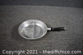 Hammered Club Aluminum Divided Pan