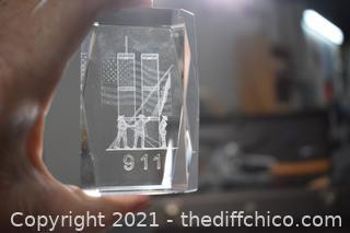 911 Laser Art