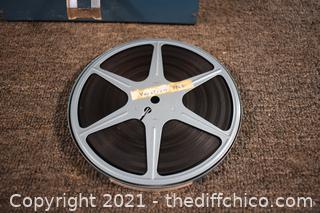 Tin of File Reels-some w/film, some w/o film