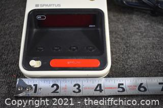 Working Spartus Desk Light/Alarm