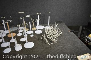 Doll Stands and Plate Stands