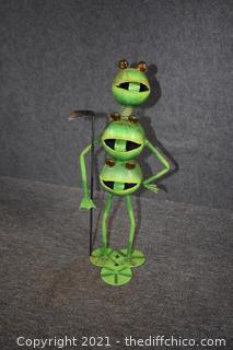 Frog Yard Art