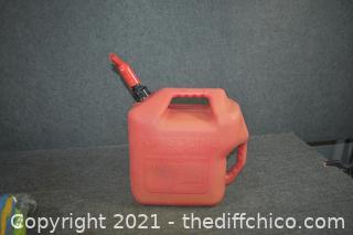 Plastic Gas Container
