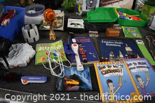 Mixed Lot of Kids Toys