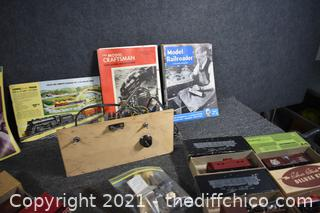Railroad Collectible Cars and More