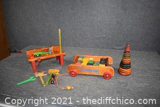 Vintage Wood Toys
