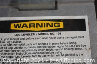 Leg Leveler