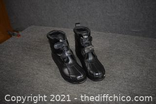 Totes Rubber Boots size 13D