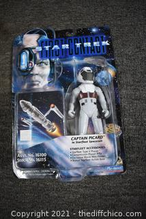 Collectible NIB First Contact Star Trek Character