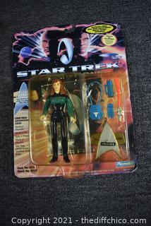 Collectible NIB Star Trek Generations Character