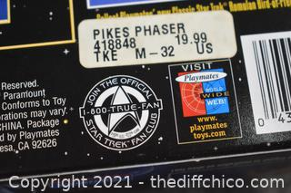 Collectible NIB Star Trek Laser Pistol