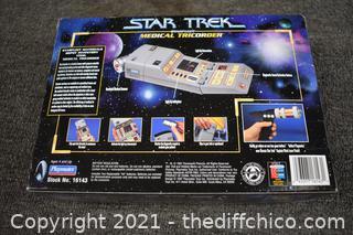 Collectible NIB Star Trek Medical  TriCorder