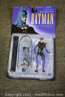 Collectible NIB Batman and Robin Catwoman Character