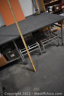 Vintage Wooden Gas Tank Measurement Tool