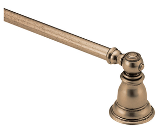 "Moen YB5424AZ Antique Bronze 24"" Towel Bar (J11)"