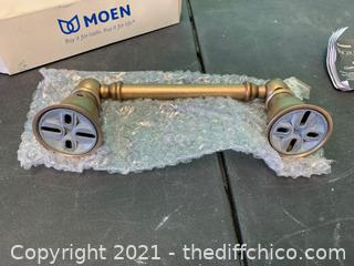 Moen YB5408AZ  Kingsley Antique Bronze Pivoting Paper Holder (J23)